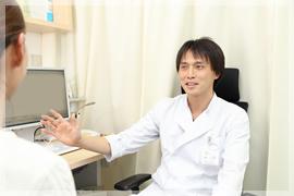 問診と診察、検査